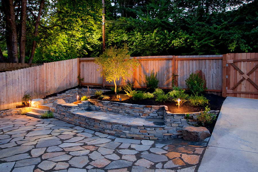 Award winning landscape design in houston fivestar landscape for Small patio landscaping