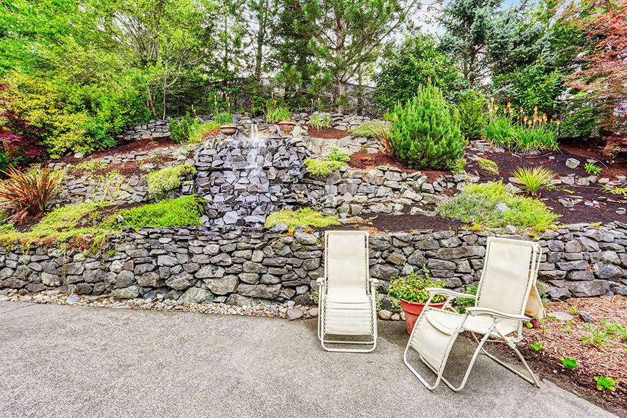 Rock Ratining Walls Fivestar Landscape